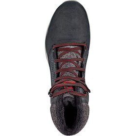 Salomon Utility CS WP Chaussures Homme, black/black/red dahlia